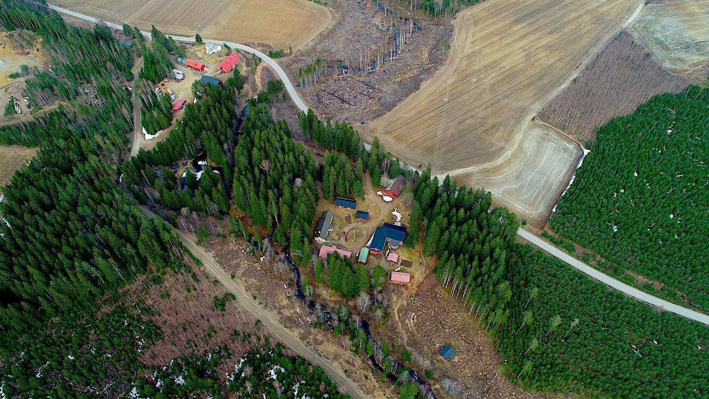 Valokuvaaja Timo Ahola - Drone-ilmakuvaus - Maisemakuva (c) Valokuvaaja Timo Ahola