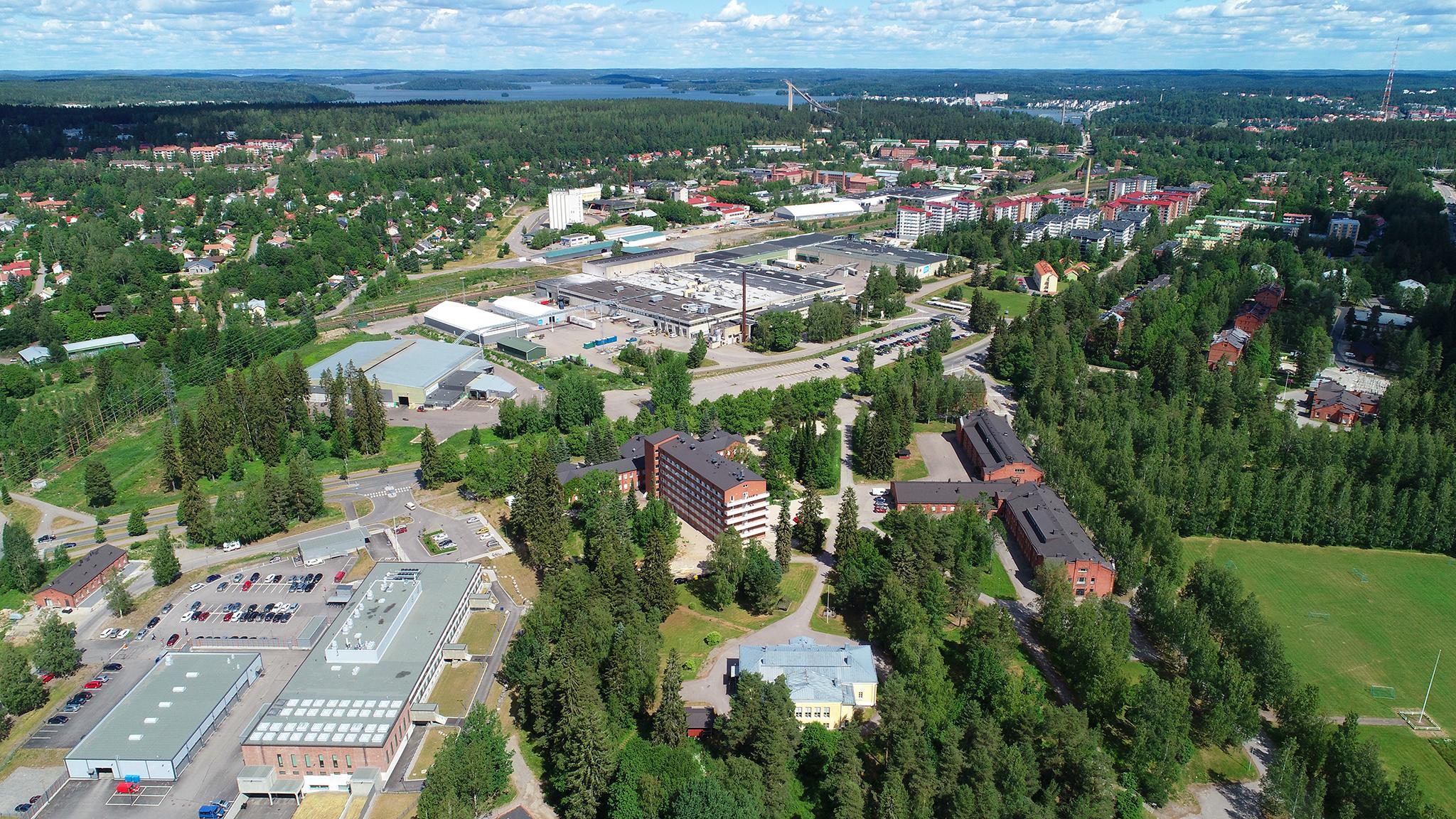 Valokuvaaja Timo Ahola - Drone-ilmakuvaus - Lahti (c) Valokuvaaja Timo Ahola