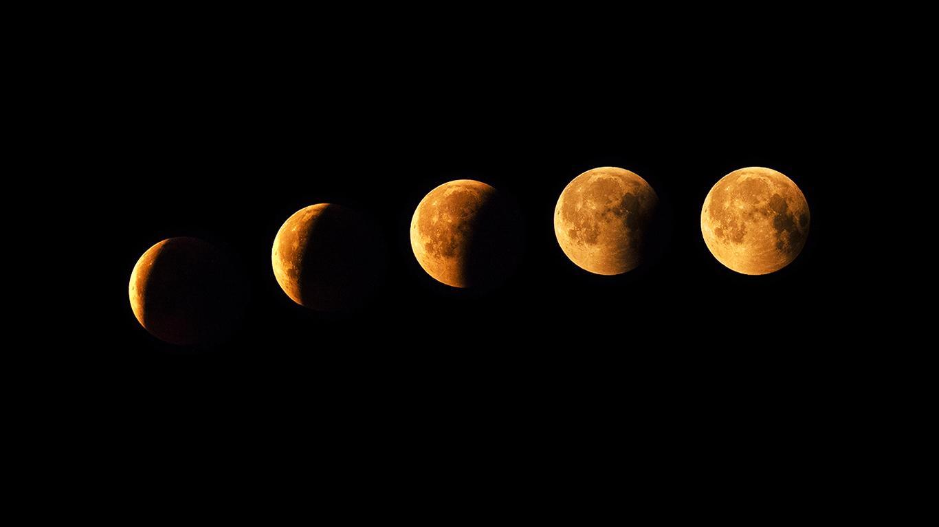 Valokuvaaja Timo Ahola -  - Kuunpimennys, Lunar eclipse - Lunar eclipse in Jyväskylä Finland 27.7.18 (c) Valokuvaaja Timo Ahola