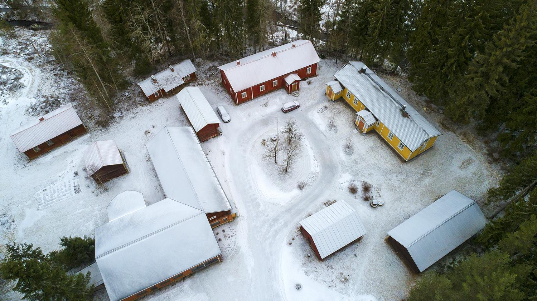 Valokuvaaja Timo Ahola - Drone-ilmakuvaus - Kiinteistökuva (c) Valokuvaaja Timo Ahola