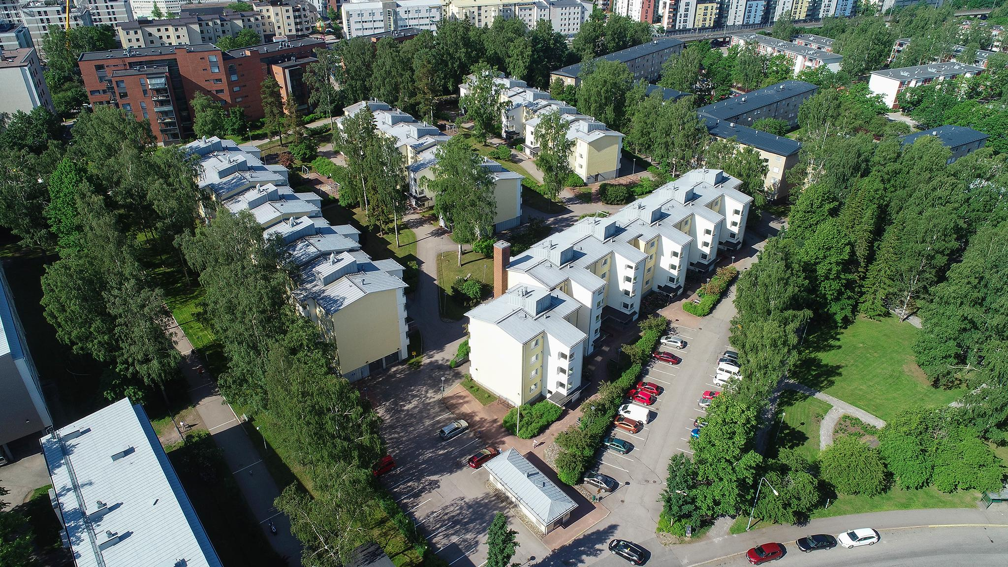 Valokuvaaja Timo Ahola - Drone-ilmakuvaus - Helsinki Kannelmäki (c) Valokuvaaja Timo Ahola