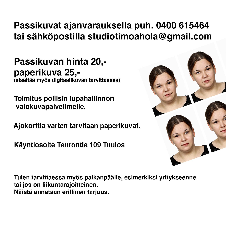 Valokuvaaja Timo Ahola - Passikuvat (c) Valokuvaaja Timo Ahola