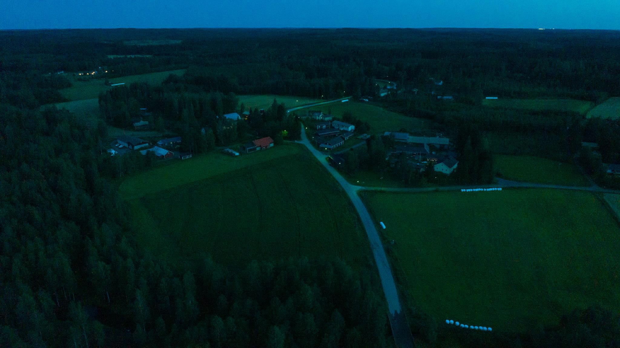 Valokuvaaja Timo Ahola - Drone-ilmakuvaus - Teuronkylä - Hämeenlinna Tuulos Teuro (c) Valokuvaaja Timo Ahola