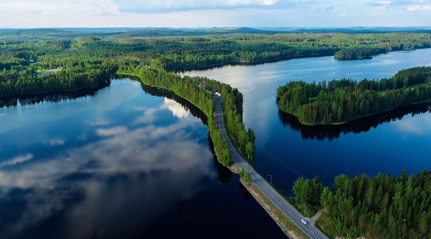 Valokuvaaja Timo Ahola - Drone-ilmakuvaus - Harjunsalmi - Ilmakuva (c) Valokuvaaja Timo Ahola