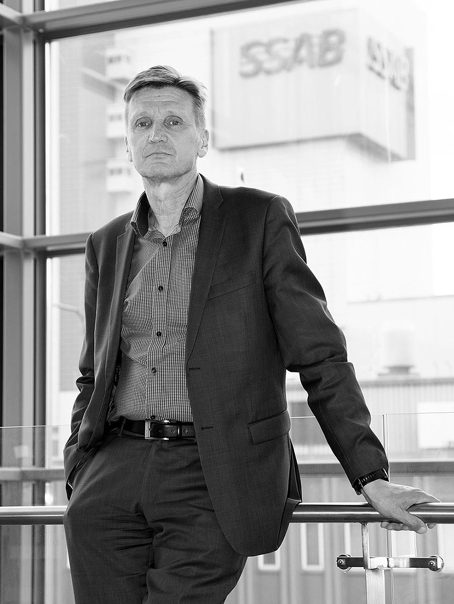 Valokuvaaja Timo Ahola -  - Olavi Huhtala - SSAB (c) Valokuvaaja Timo Ahola